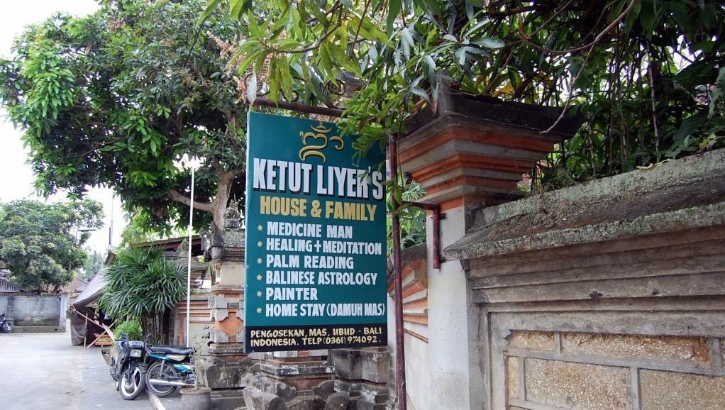 Cabinetul lui Ketut Liyer