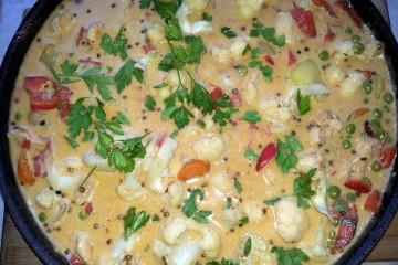 Curry masala cu legume
