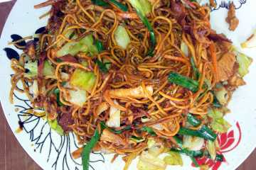 Mauritian fried noodles