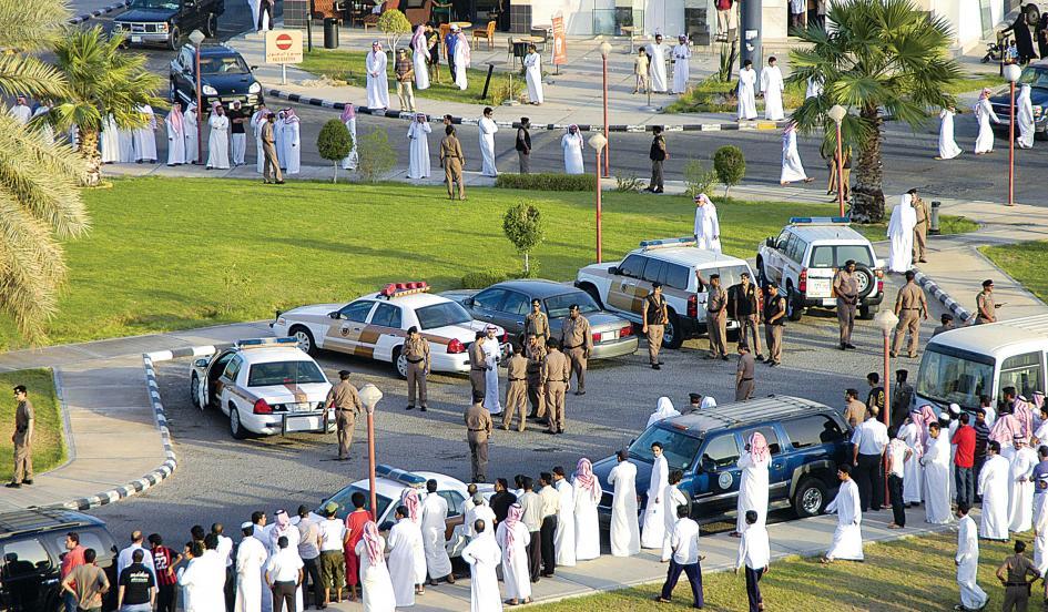 Pregătirea unei execuţii publice în Arabia Saudită (sursa: Newsweek)