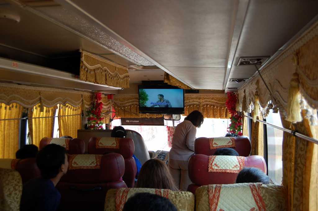 În autobuz