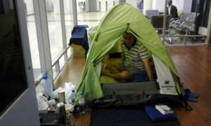refugiat sirian pe aeroportul din Moscova