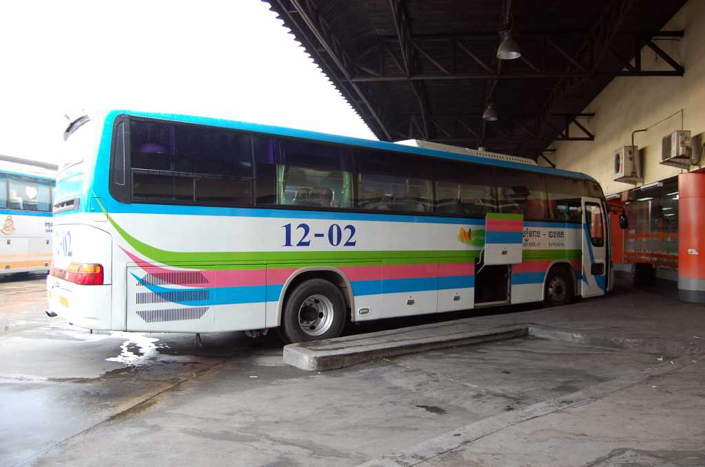 Autobuzul Bangkok- Siem Reap