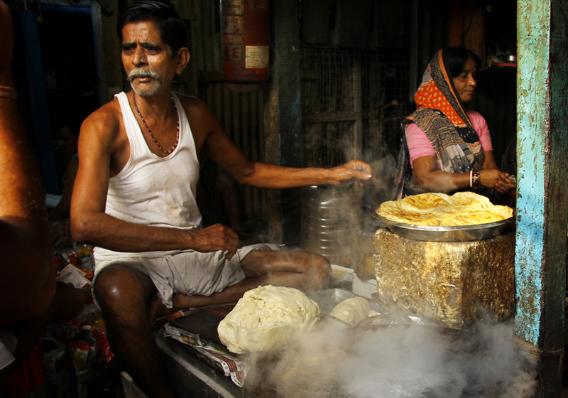Naan în Kolkata (Sandipani Chattopadhyay)