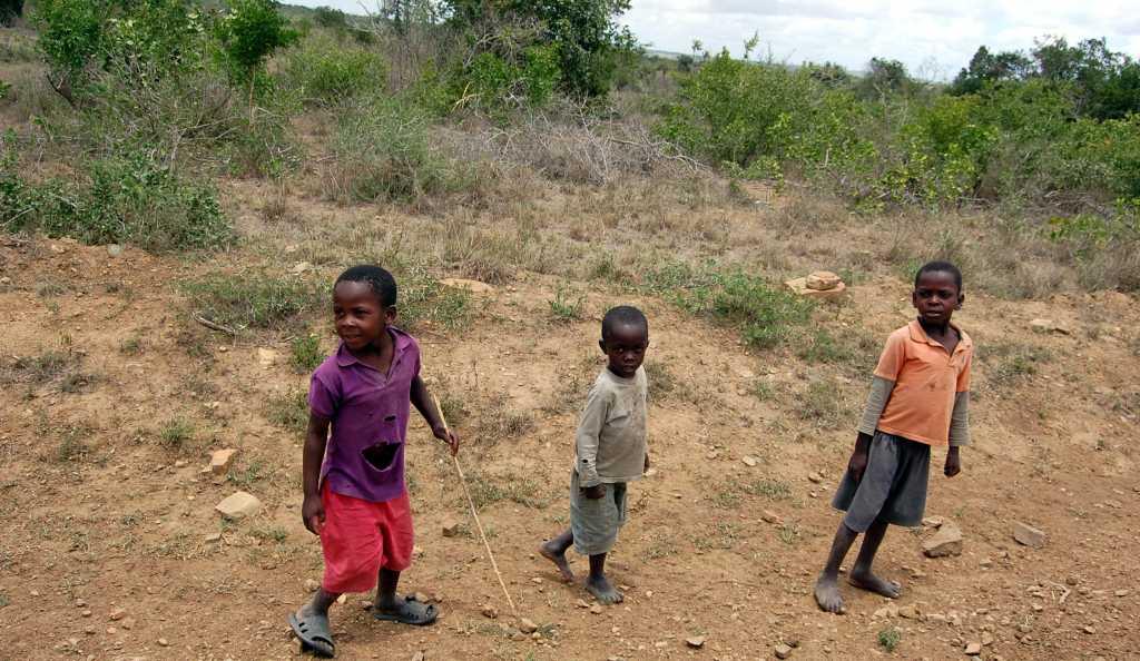 Copii din Kenya