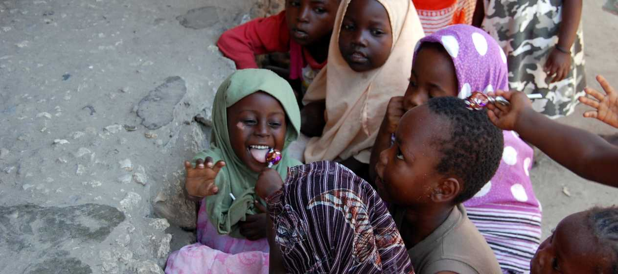 Copii din Zanzibar
