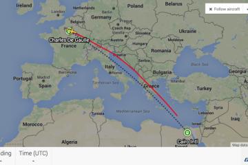 Zborul EgyptAir MS 804
