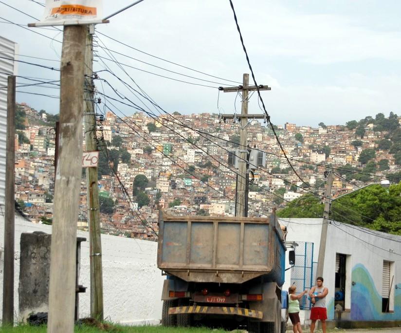 Rocinha- cea mai mare favela din lume