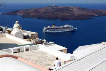 Călătorii în Europa. Santorini, Grecia.