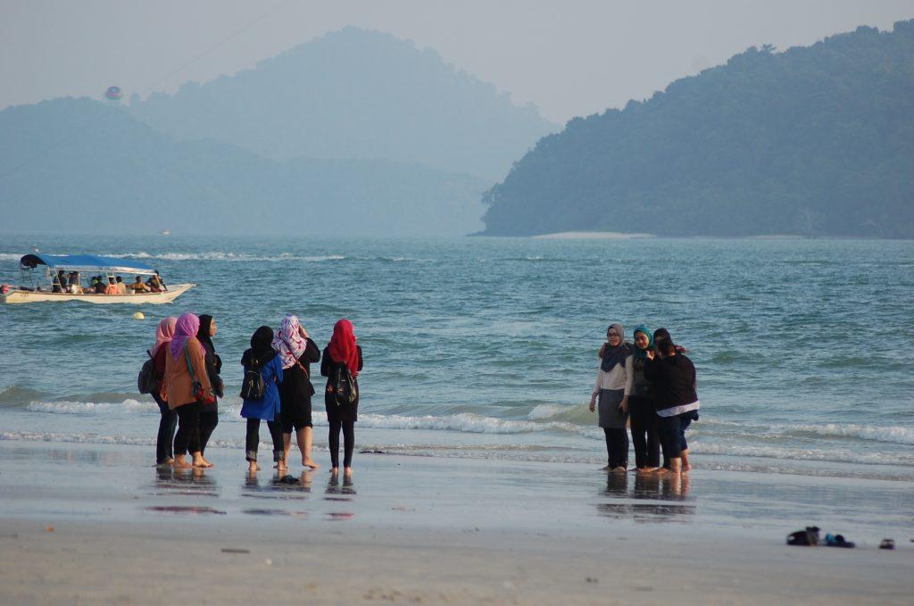 Plaja din Pantai Cenang, Langkawi