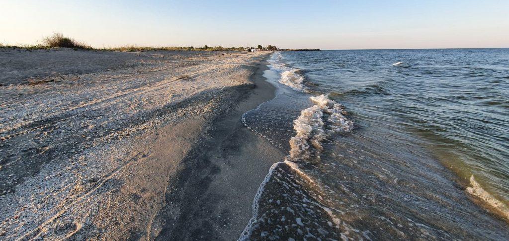 Plajă la Gura Portiței