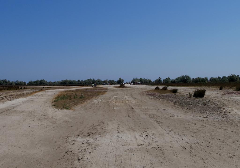 un drum de nisip