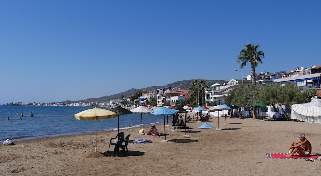 plajă, oameni, Turcia