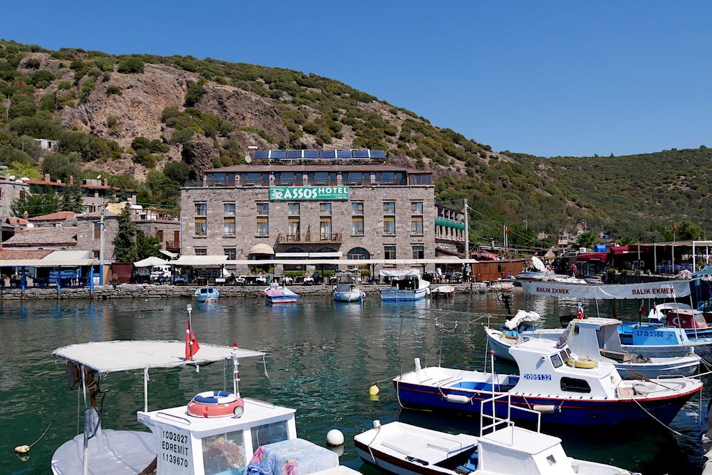 Bărci, golf, Hotel Assos, Turcia