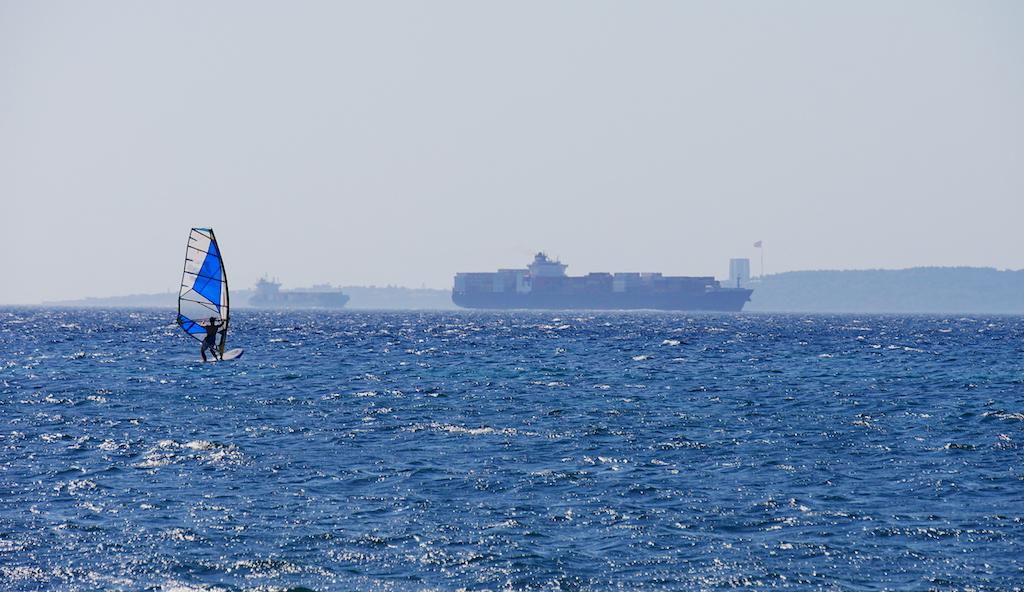 Windsurf, vapor, mare, Turcia